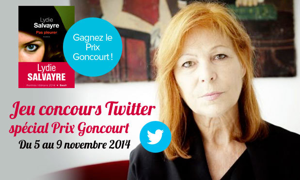 Concours Twitter : gagnez le prix Goncourt !