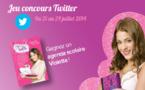 Concours Twitter : gagnez un agenda scolaire Disney Violetta !