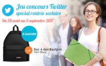 Concours Twitter Colibri : remportez un sac Eastpak !